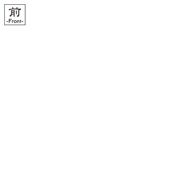 和柄,和柄服,むかしむかし,大きいサイズ,Tシャツ,キッズ,半袖,織田木瓜家紋,バックプリント
