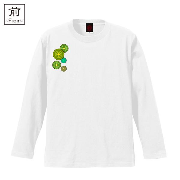 和柄,和柄服,むかしむかし,大きいサイズ,Tシャツ,キッズ,長袖,九尾の狐