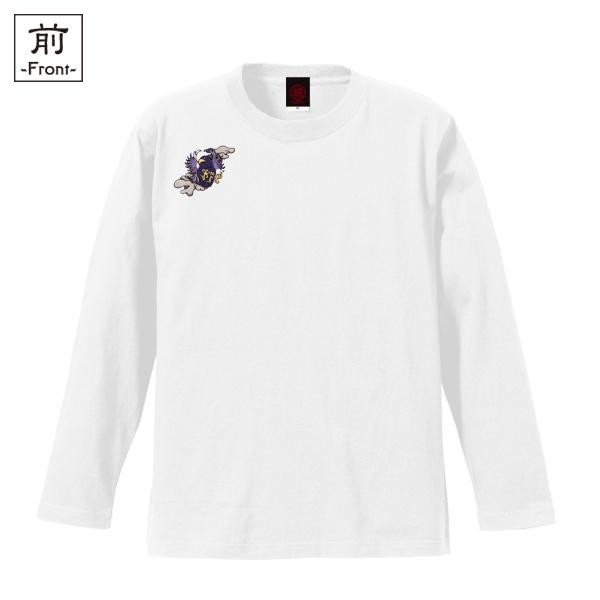 和柄,和柄服,むかしむかし,大きいサイズ,Tシャツ,レディース,長袖,八咫烏