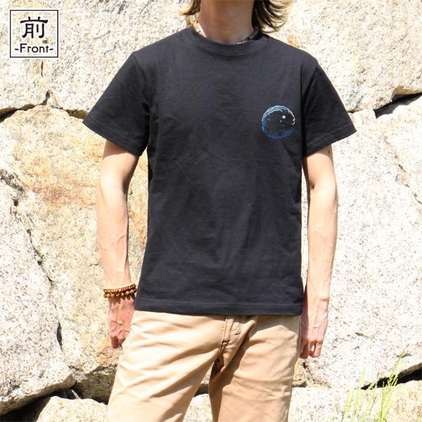 和柄,和柄服,むかしむかし,大きいサイズ,Tシャツ,レディース,半袖,荒波猛虎
