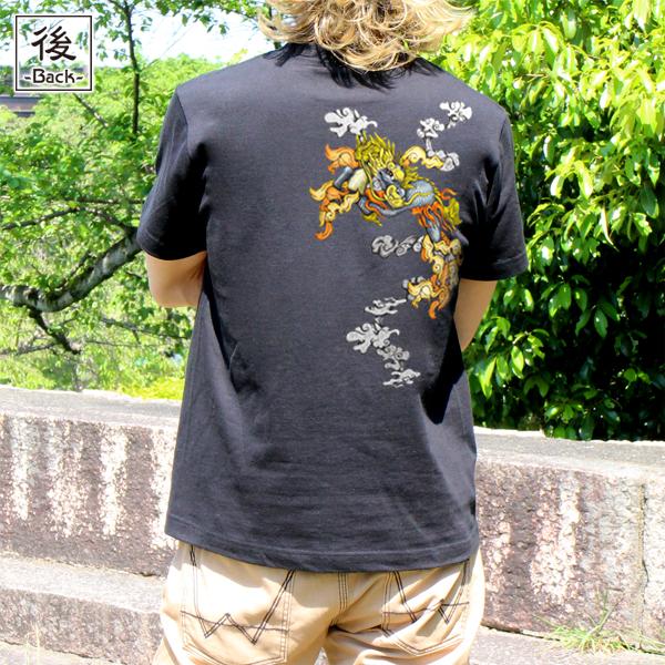 和柄,和柄服,むかしむかし,大きいサイズ,Tシャツ,キッズ,半袖,叢雲麒麟
