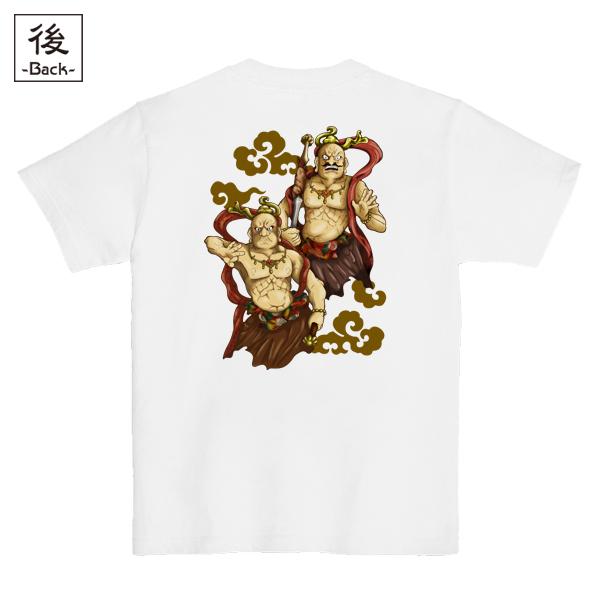 和柄,和柄服,むかしむかし,大きいサイズ,Tシャツ,レディース,半袖,阿吽