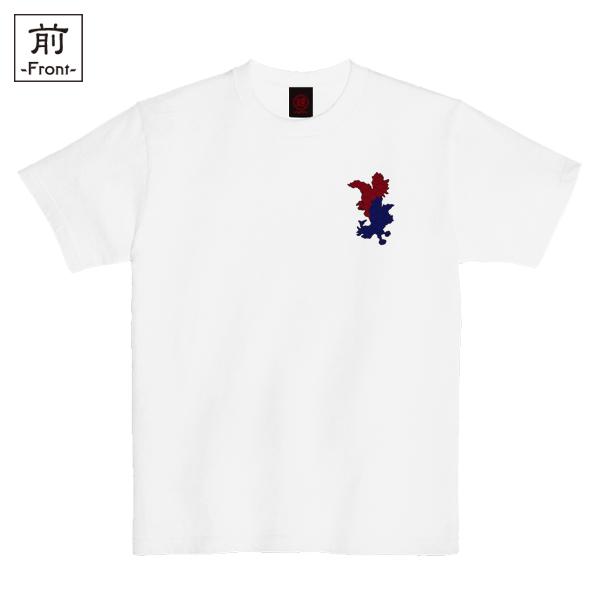 和柄,和柄服,むかしむかし,大きいサイズ,Tシャツ,キッズ,半袖,闘鷄炎舞