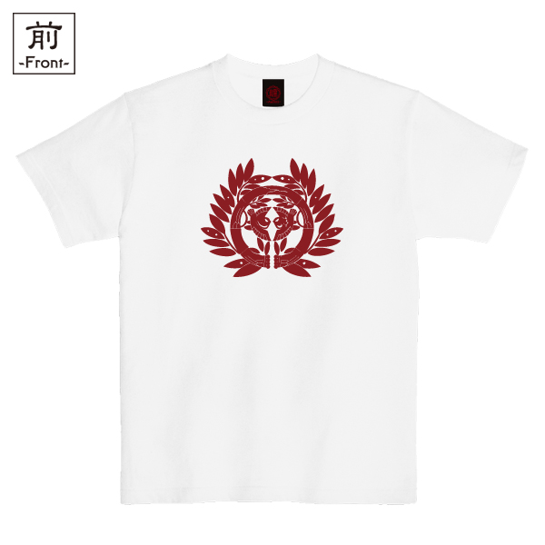 和柄,和柄服,むかしむかし,大きいサイズ,Tシャツ,キッズ,半袖,伊達仙台笹家紋