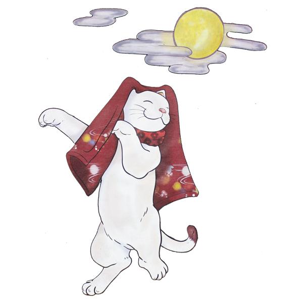 和柄,和柄服,むかしむかし,大きいサイズ,Tシャツ,メンズ,長袖,おどり猫
