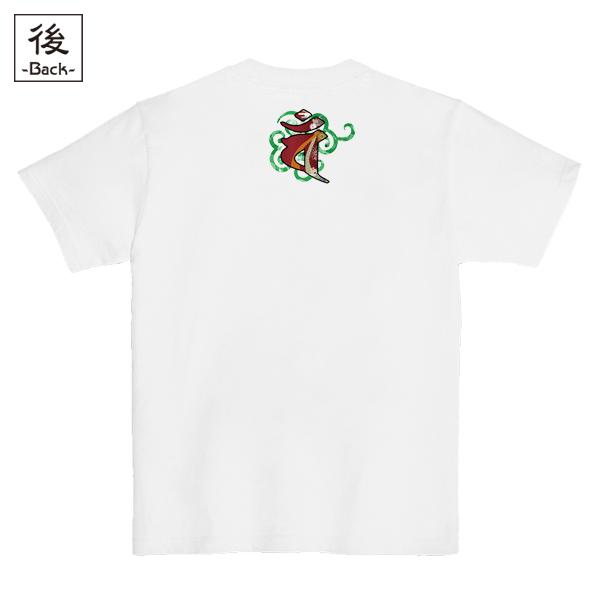 和柄,和柄服,むかしむかし,大きいサイズ,Tシャツ,レディース,半袖,唐草羊戯画