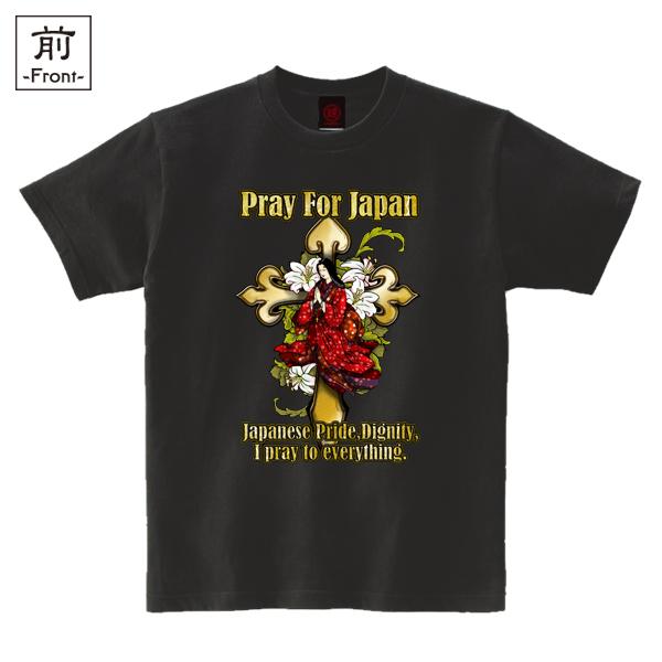 和柄,和柄服,むかしむかし,大きいサイズ,Tシャツ,レディース,半袖,ガラシャの祈り