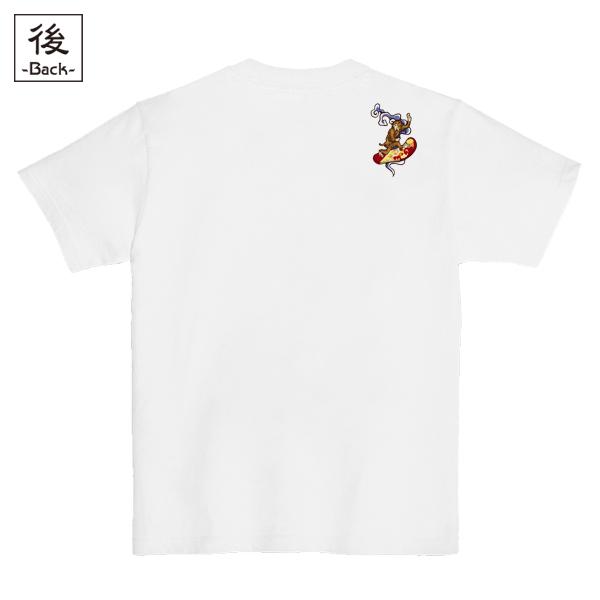和柄,和柄服,むかしむかし,大きいサイズ,Tシャツ,レディース,半袖,鳥獣戯画_波乗猿