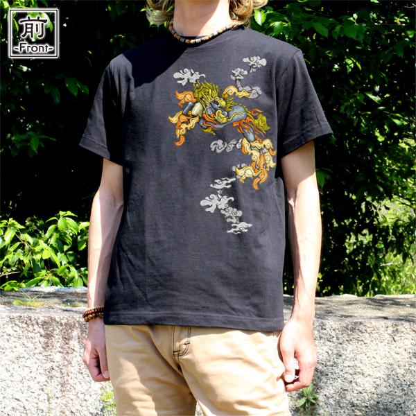 和柄,和柄服,むかしむかし,大きいサイズ,Tシャツ,レディース,半袖,叢雲麒麟