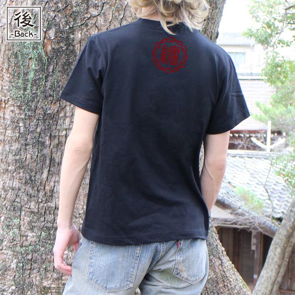 和柄,和柄服,むかしむかし,大きいサイズ,Tシャツ,レディース,半袖,鯉墨芸者