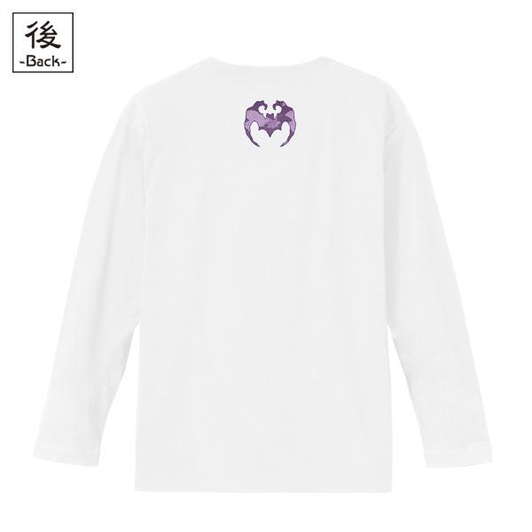 和柄,和柄服,むかしむかし,大きいサイズ,Tシャツ,キッズ,長袖,月夜蝙蝠