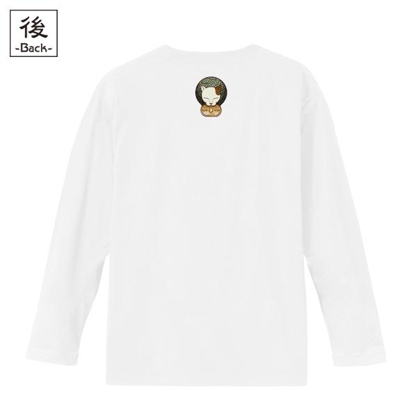 和柄,和柄服,むかしむかし,大きいサイズ,Tシャツ,レディース,長袖,泥棒猫
