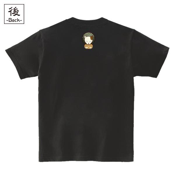 和柄,和柄服,むかしむかし,大きいサイズ,Tシャツ,キッズ,半袖,泥棒猫