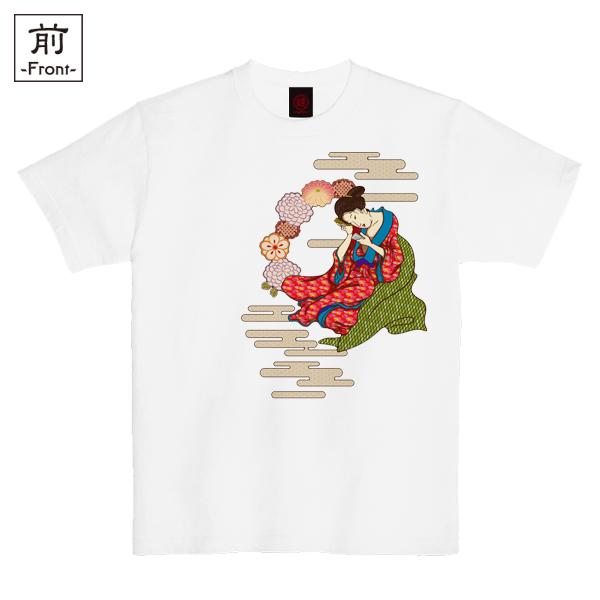 和柄,和柄服,むかしむかし,大きいサイズ,Tシャツ,キッズ,半袖,すまぁとふぉん