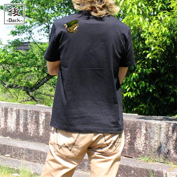 和柄,和柄服,むかしむかし,大きいサイズ,Tシャツ,キッズ,半袖,自来也忍法帖