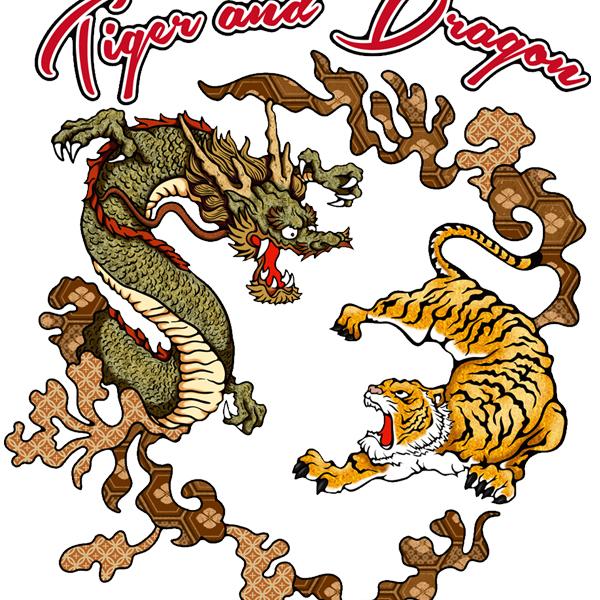 和柄,和柄服,むかしむかし,大きいサイズ,パーカー,プルパーカー,レディース,龍虎円舞