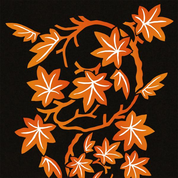 和柄,和柄服,むかしむかし,大きいサイズ,トレーナー,スウェット,レディース,紅葉紋様