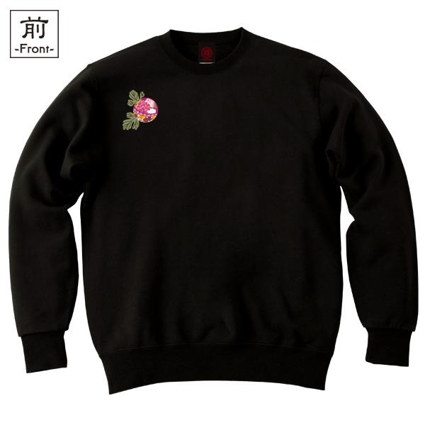 和柄,和柄服,むかしむかし,大きいサイズ,スウェット,トレーナー,メンズ,華鞠紋様