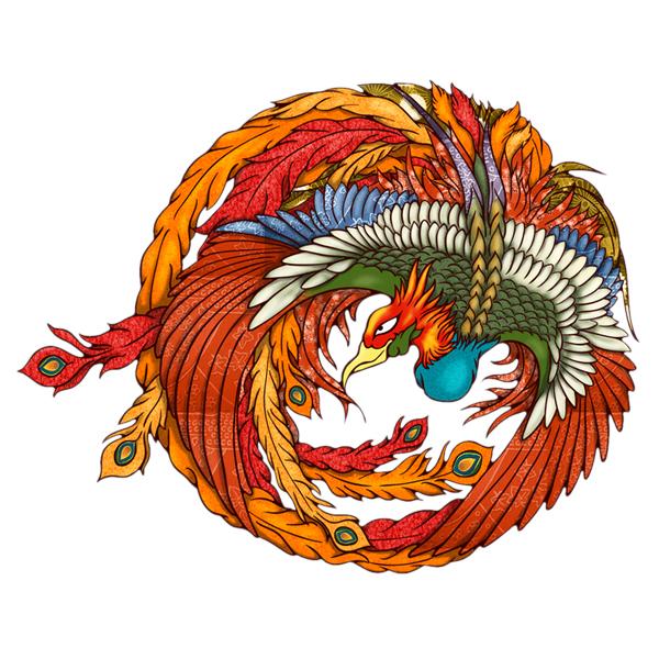 和柄,和柄服,むかしむかし,大きいサイズ,スウェット,トレーナー,レディース,鳳凰円舞