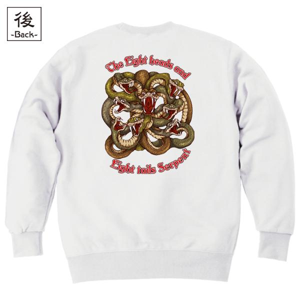 和柄,和柄服,むかしむかし,大きいサイズ,スウェット,トレーナー,メンズ,八岐大蛇