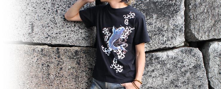 和柄Tシャツ,和柄ブランド,纏,商品仕様とグレード